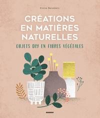 Eloise Benedetti - Créations en matières naturelles - Objets DIY en fibres végétales.