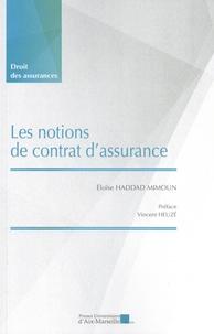 Eloïse Haddad Mimoun - Les notions de contrat d'assurance.