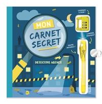 Eloïse Jensen et  Freepik - Mon carnet secret Top secret - Avec un stylo à encre invisible et un cadenas à code chiffré !.