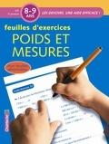 Els Machiels - Feuilles d'exercices Poids et mesures 8-9 ans CE2.