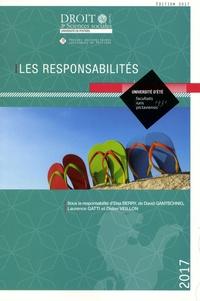 Deedr.fr Les responsabilités - Université d'été Image