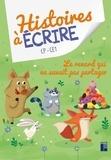Elsa Bouteville et Prisca Le Tandé - Histoires à écrire CP-CE1 - Le renard qui ne savait pas partager. 1 Cédérom