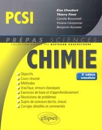 Elsa Choubert et Thierry Finot - Chimie PCSI.
