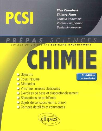 Chimie PCSI 3e édition