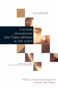 Goodtastepolice.fr Les droits de la personne selon l'Eglise catholique de 1891 à 2013 Image