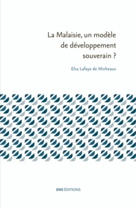 Elsa Lafaye de Micheaux - La Malaisie, un modèle de développement souverain ?.