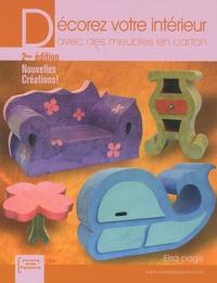Elsa Pagis - Décorez votre intérieur avec des meubles en carton - Nouvelles créations !.