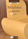 Elsa Pagis - Meubles en carton pour le salon.