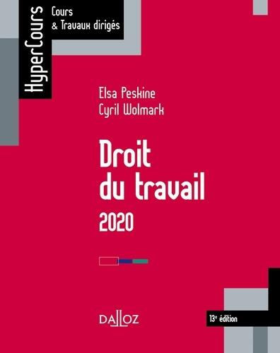 Droit du travail 2020 - 13e éd.