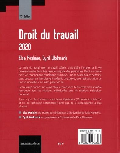 Droit du travail  Edition 2020