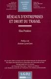 Elsa Peskine - Réseaux d'entreprises et droit du travail.