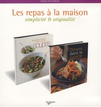 Elsa Petersen-Schepelern et Laura Washburn - Les repas à la maison - Coffret 2 volumes : Soupes ; Dînons dans la cuisine.