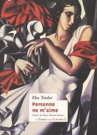 Elsa Triolet - Anne-Marie Tome 1 : Personne ne m'aime.