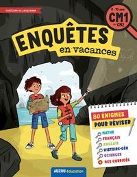 Elsa Vallée et Alice Turquois - Enquêtes en vacances CM1 au CM2.