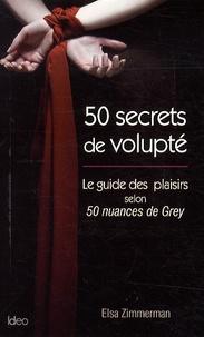 Deedr.fr 50 secrets de volupté - Le guide des plaisirs selon 50 nuances de Grey Image