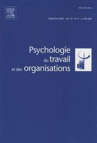 Claude Lemoine - Psychologie du travail et des organisations Volume 12 N° 4, Déce : .
