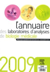 L'annuaire des laboratoires d'analyses de biologie médicale 2009 -  Elsevier pdf epub