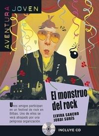 Elvira Sancho et Jordi Suris - El monstruo del rock. 1 CD audio