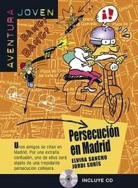 Elvira Sancho et Jordi Suris - Persecucion en Madrid. 1 CD audio