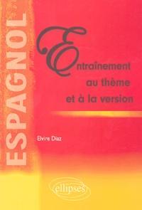 Elvire Diaz - Entraînement au thème et à la version Espagnol.