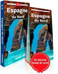Elzbieta Wszeborowska - Espagne du Nord - Guide + Atlas + Carte 1/1 100 000.