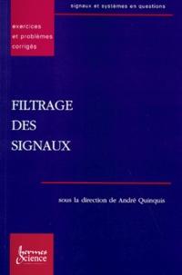 FILTRAGE DES SIGNAUX. Exercices et problèmes corrigés - Emanuel Radoi | Showmesound.org