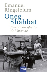 Deedr.fr Oneg Shabbat - Journal du ghetto de Varsovie Image