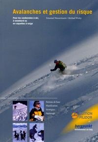 Histoiresdenlire.be Avalanches et gestion du risque - Pour les randonnées à ski, à snowboard ou en raquettes à neige Image