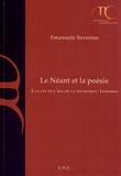 Emanuele Severino - Le Néant et la poésie - A la fin de l'âge de la technique : Leopardi.