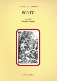 Emanuele Tesauro - Scritti.