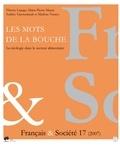 EME (Editions) - Français & Société N° 17 : Les mots de la bouche - La néologie dans le secteur alimentaire.
