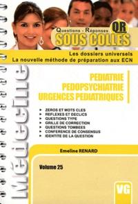 Emeline Renard - Pédiatrie, pédopsychiatrie, urgences pédiatriques.