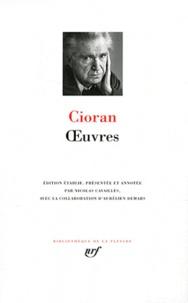 Emil Cioran - Oeuvres.