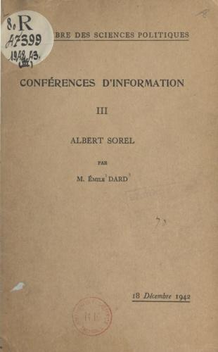 Albert Sorel. 18 Décembre 1942