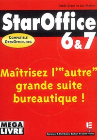 Emile Dioux et Léo Malère - StarOffice 6 & 7 et Openoffice.org 1.1.