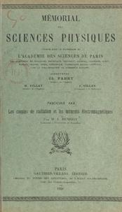 Emile Henriot et  Académie des sciences de Paris - Les couples de radiation et les moments électromagnétiques.