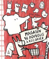 Emile Jadoul - Magasin de doudous à colorier.