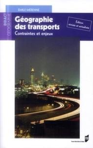 Emile Mérenne - Géographie des transports - Contraintes et enjeux.