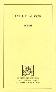 Emile Meyerson - Essais.