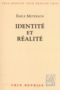 Emile Meyerson - Identité et réalité.
