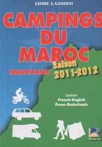 Emile Verhooste - Campings du Maroc et de Mauritanie - Guide critique.