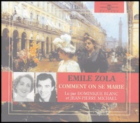 Emile Zola - Comment on se marie et comment on meurt - Coffret en 2CD avec livret.