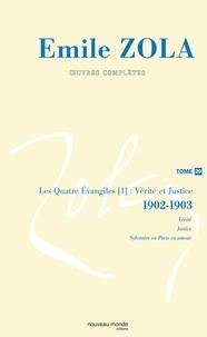 Emile Zola, Oeuvres complètes - Tome 20, Vérité et Justice (1902-1903).pdf