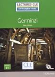 Emile Zola - Germinal - Niveau 3 B1. 1 CD audio MP3