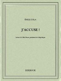 Emile Zola - J'accuse !.