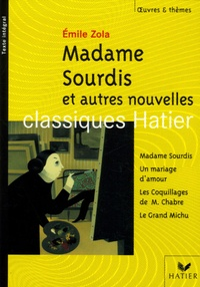 Histoiresdenlire.be Madame Sourdis et autres nouvelles Image