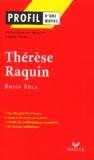 Emile Zola et Laure Himy - Thérèse Raquin.