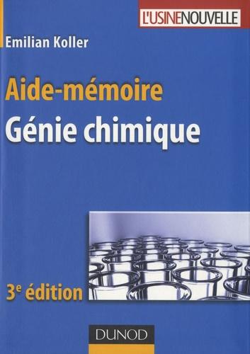 Emilian Koller - Aide-mémoire de génie chimique.