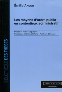 Deedr.fr Les moyens d'ordre public en contentieux administratif Image