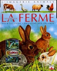 Emilie Beaumont et Sandrine Lefebvre - Les animaux de la ferme - Pour les faire connaître aux enfants. 1 Jeu